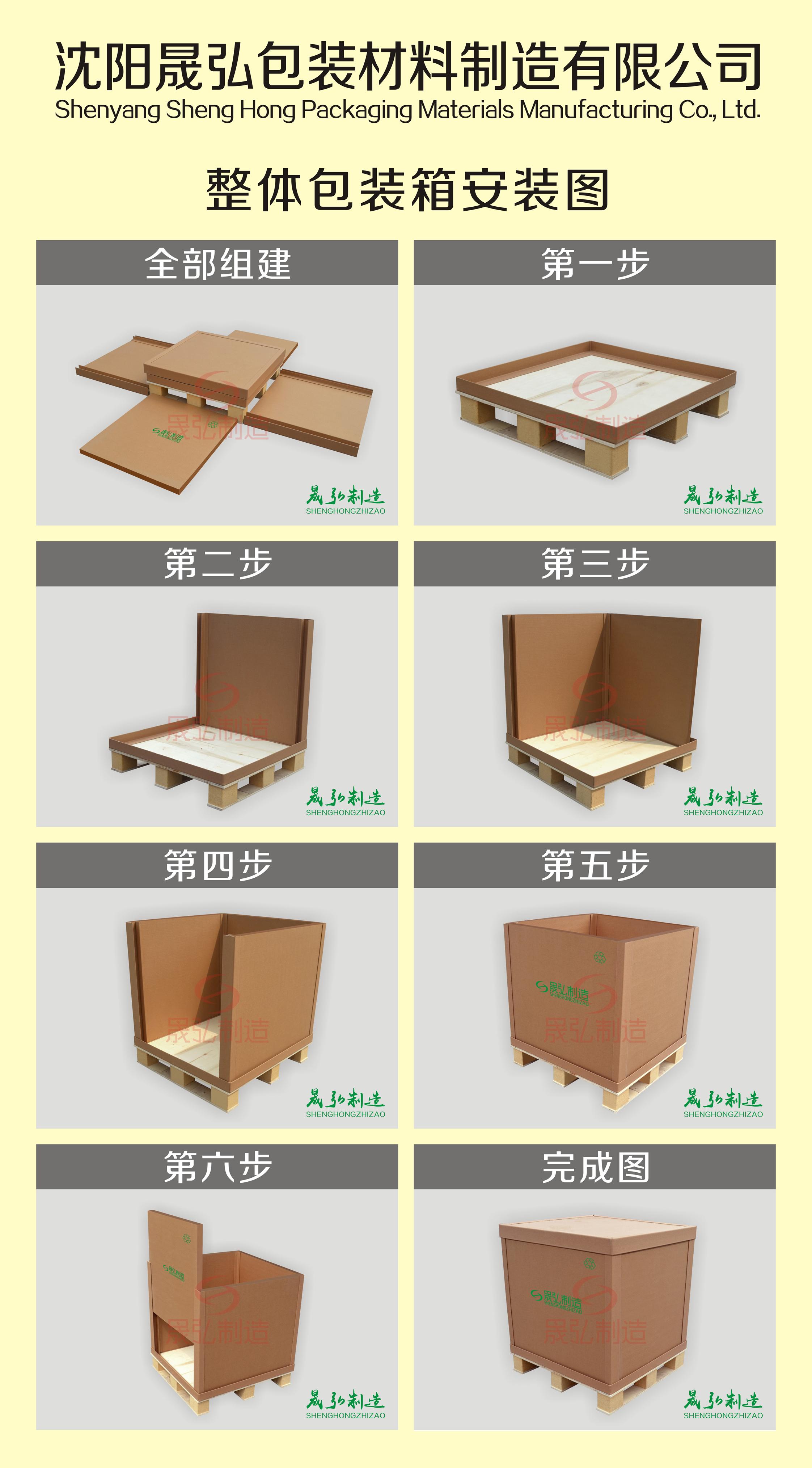 沈阳包装箱安装说明